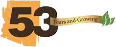 53 Years and Growing Logo Image